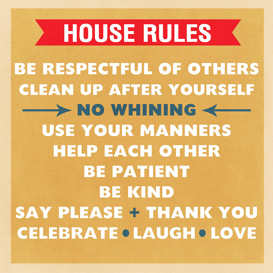 House Rules Mixed Media