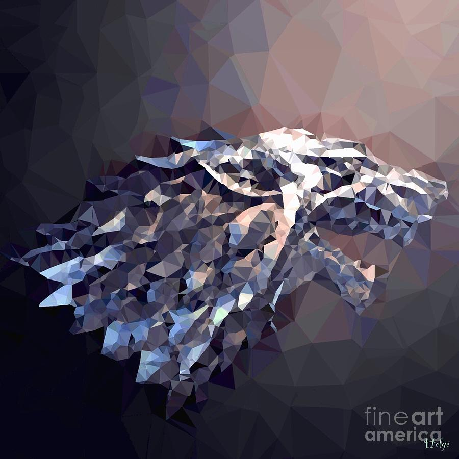House Stark Digital Art by HELGE Art Gallery