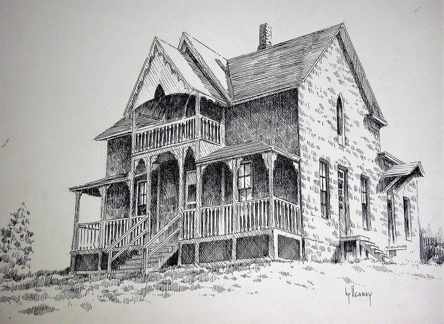 Old House Photograph - House Virginia City Montana by Kevin Heaney