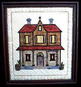 House Tapestry - Textile by Vivian Hart
