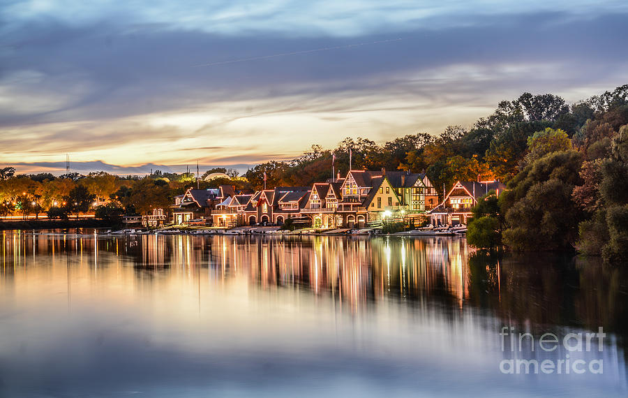 Boathouse Photograph - Houses On The Water by Stacey Granger