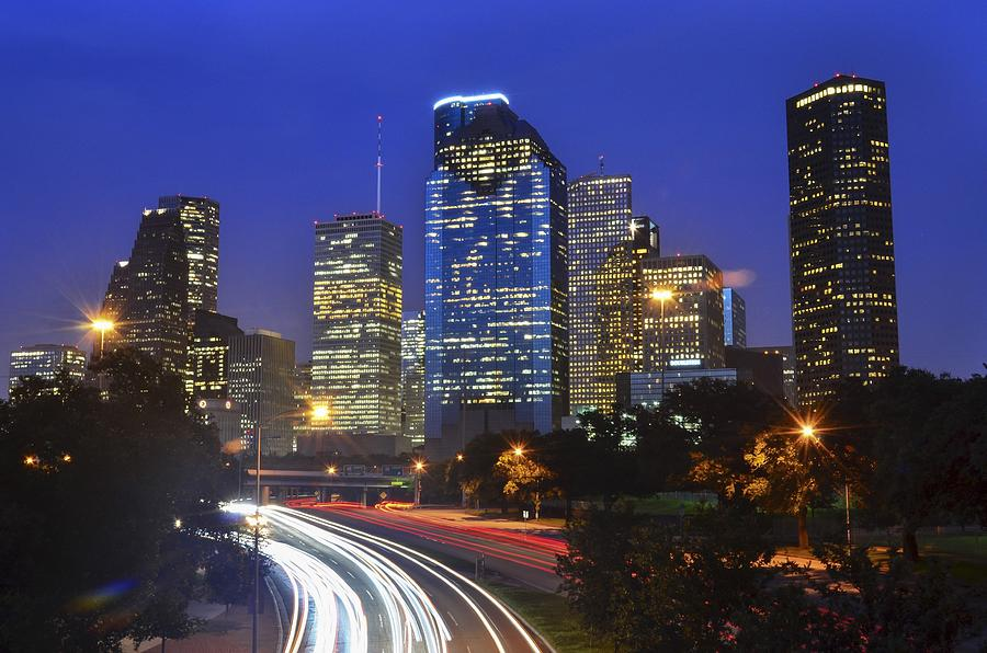 Houston Photograph - Houston City Life by Casey Weinstein