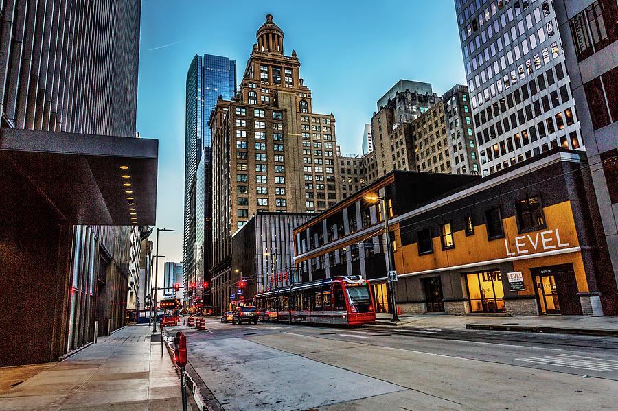 Houston Metro Rail by Mike Harlan