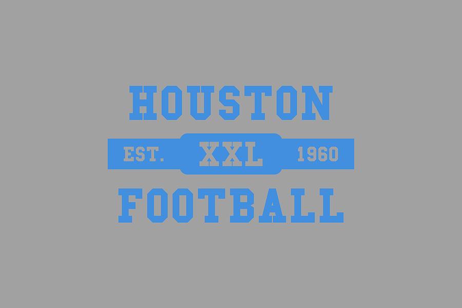 0a3d0c092 Houston Oilers Retro Shirt Photograph by Joe Hamilton