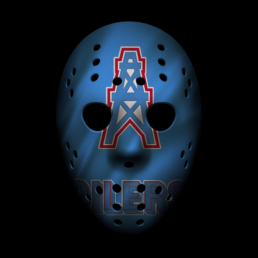 f38706a40 Houston Oilers War Mask Photograph by Joe Hamilton