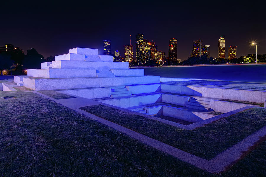 Houston Police Officer Memorial by Tim Stanley