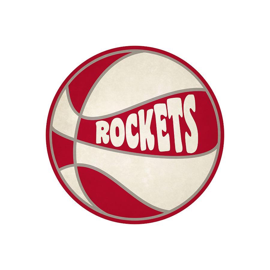 b84302a5a4c Houston Rockets Retro Shirt Photograph by Joe Hamilton
