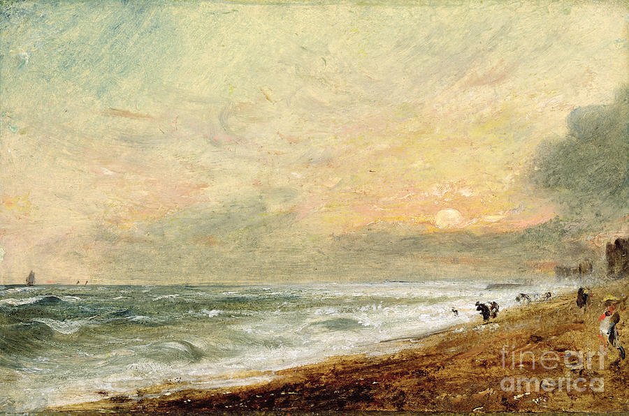 Hove Photograph - Hove Beach by John Constable
