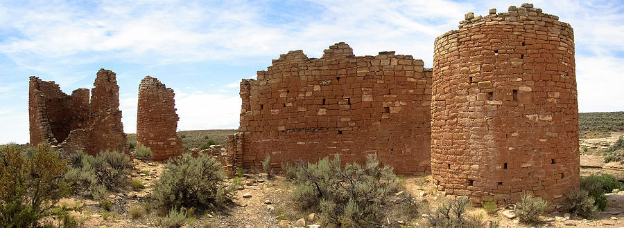 Hovenweep Photograph - Hovenweep by K Bradley Washburn