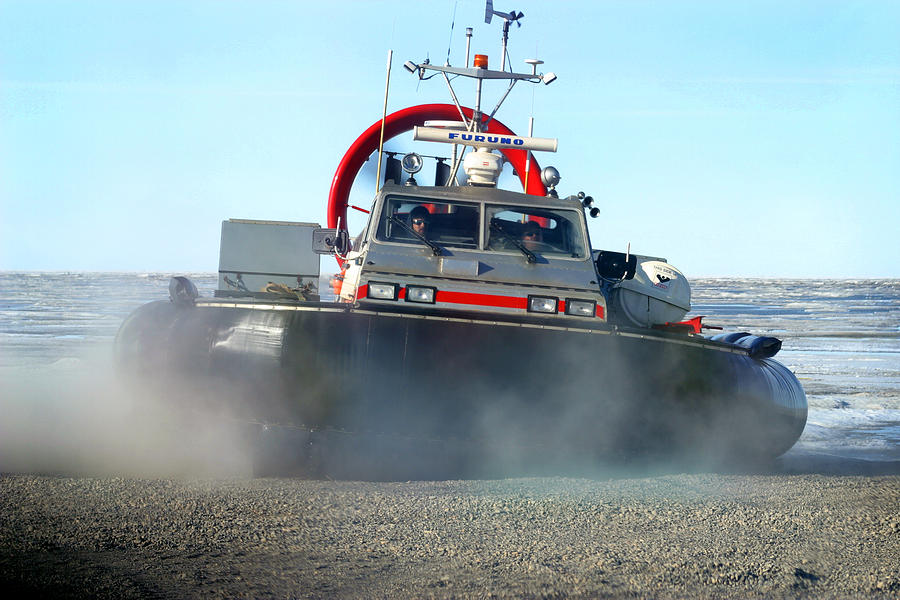 Transportation Photograph - Hover Craft by Anthony Jones
