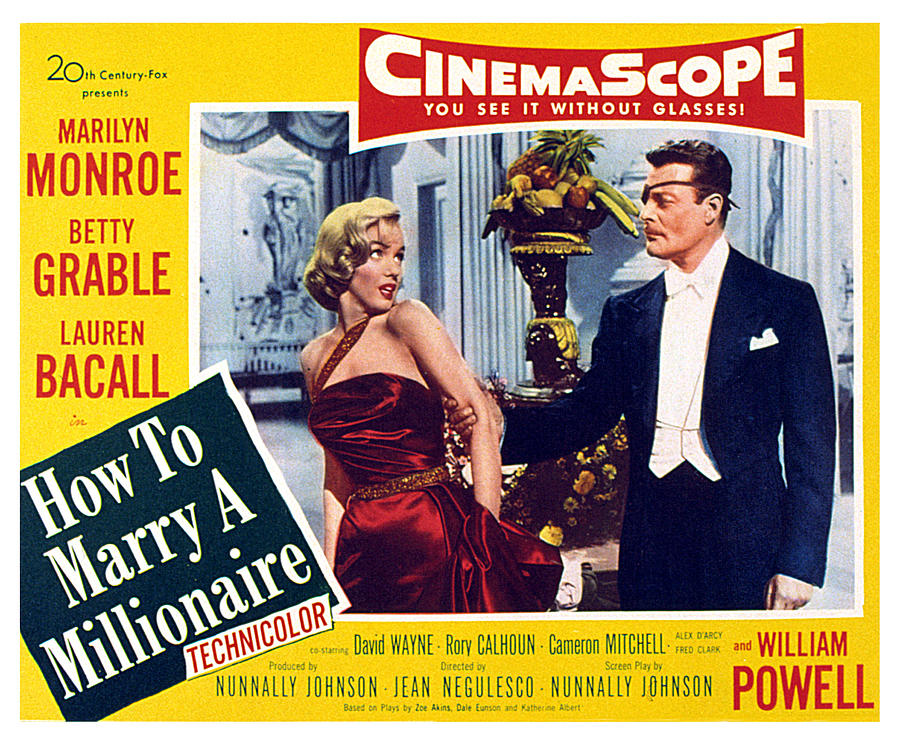 Alex Photograph - How To Marry A Millionaire, Marilyn by Everett