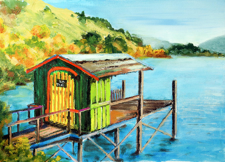 Oils Painting - How To Use Old Paint by Philip Lodwick Wilkinson