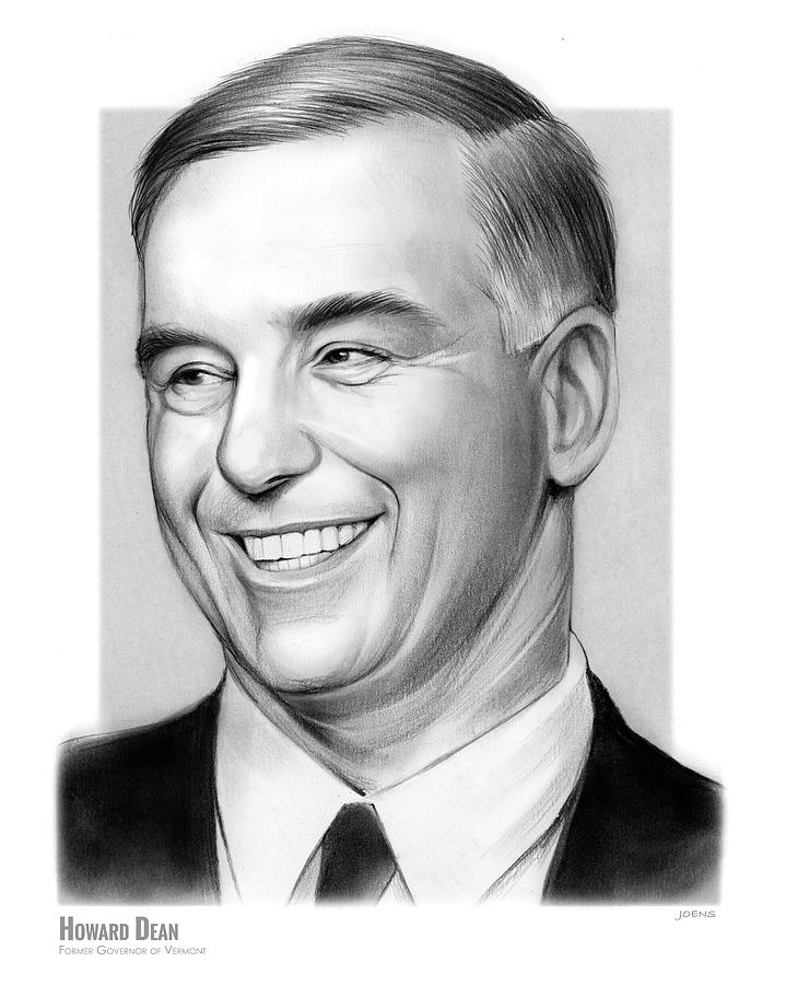 Howard Dean Drawing