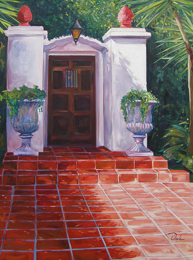 Doorway Painting - Howard by Karen Doyle