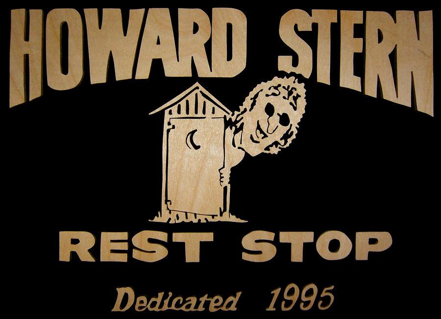 Howard Stern Digital Art - Howard Stern Rest Stop by Michael Bergman
