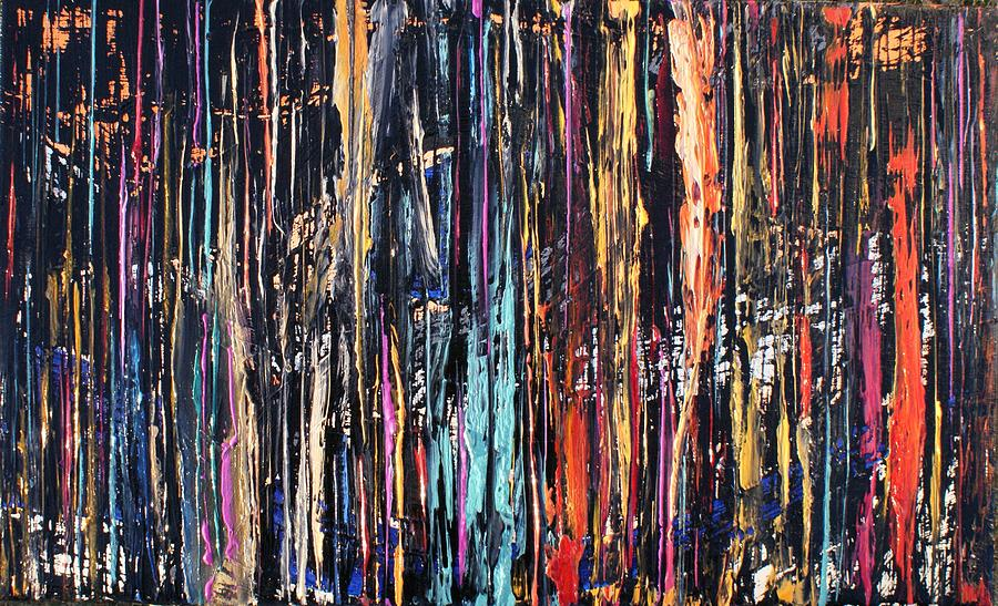 Abstract Painting - Hrcny1 by Mats Andersson
