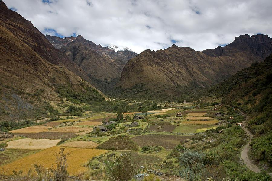 Huaripampa Valley Photograph