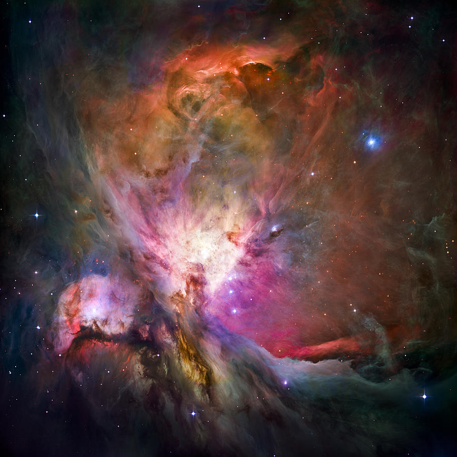 3scape Photograph - Hubbles sharpest view of the Orion Nebula by Adam Romanowicz