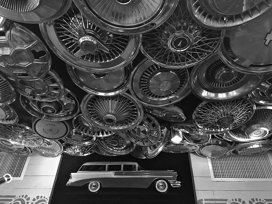 Hubcap Heaven 1 Photograph By Denise Mazzocco
