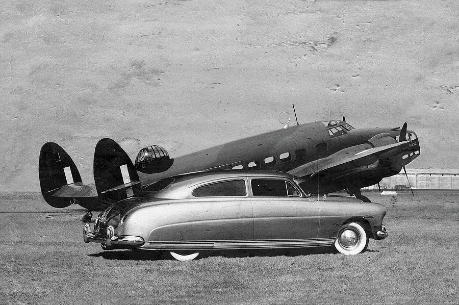 Car Photograph - Hudson And Hudson by Steven Agius