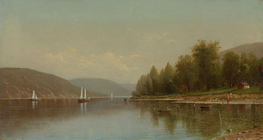 Painting Painting - Hudson River by MotionAge Designs