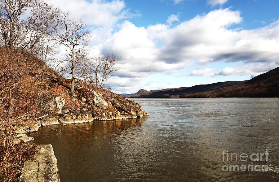 Photographer Photograph - Hudson River View by John Rizzuto