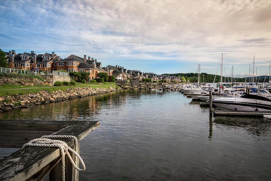 Hudson Valley Dock by Frank Mari