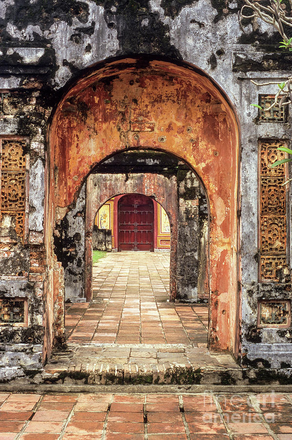 Hue Imperial Citadel Arches 01 by Rick Piper Photography