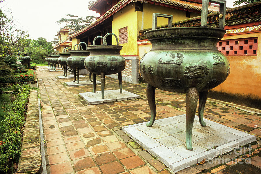 Hue Imperial Citadel Dynastic Urns by Rick Piper Photography