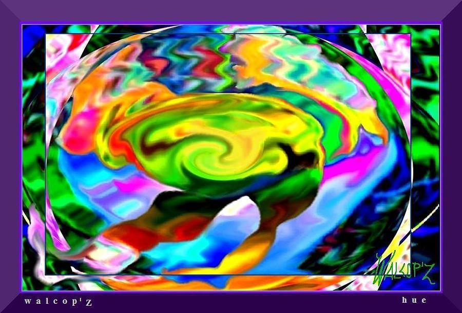 hue Digital Art by Walcopz Valencia