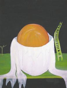 Huevo Con Escalera Painting by Humarea SLG