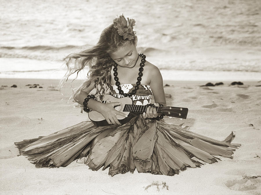 Afternoon Photograph - Hula Girl by Himani - Printscapes