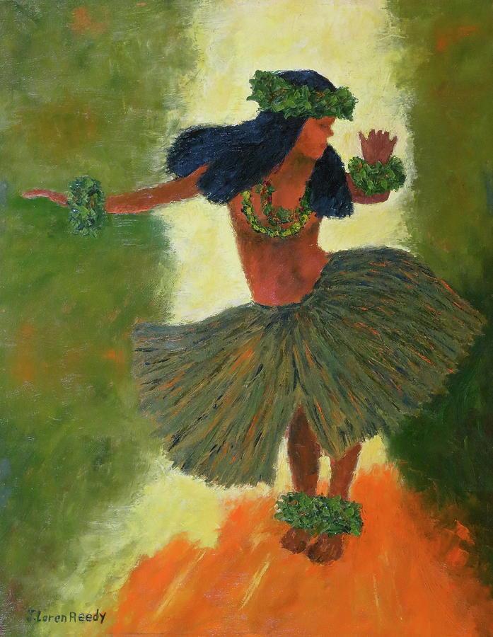 Hula Girl by J Loren Reedy