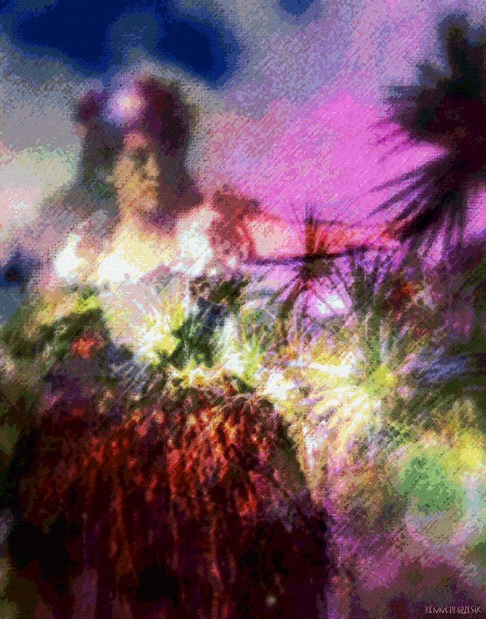 Tropical Interior Design Photograph - Hula Mai Oe by Kenneth Grzesik