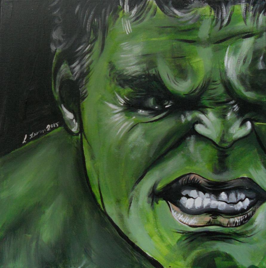 The Painting - Hulk by Lisa Leeman