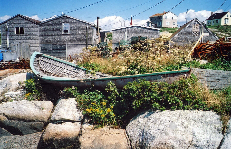 Peggy's Cove Photograph - Hull by Andrea Simon