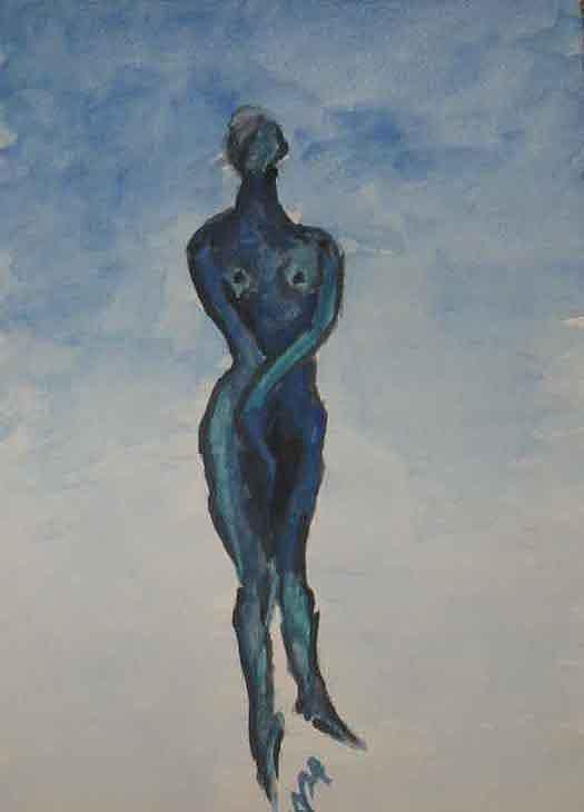 Human Eve Painting by Alireza  Mobtaker
