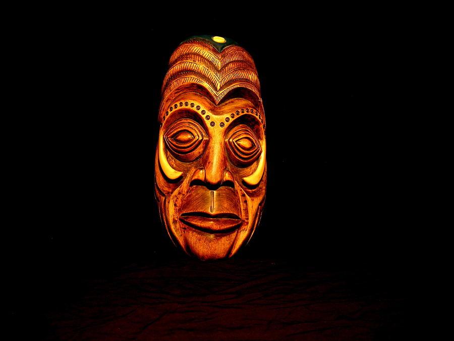 Wood Carving Sculpture - Human Hog by Owen Lohrenz