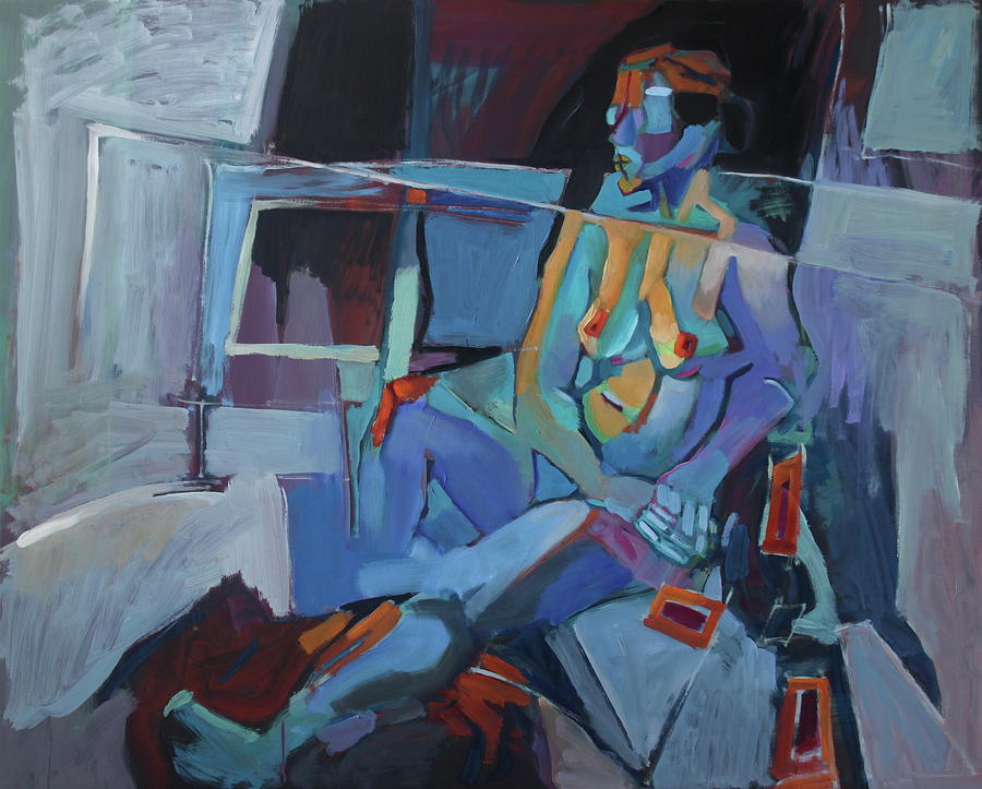 Conversation Painting - Human Puzzle by Piotr Antonow