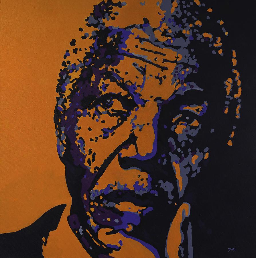 Civil Rights Painting - Humanity by Dari Artist