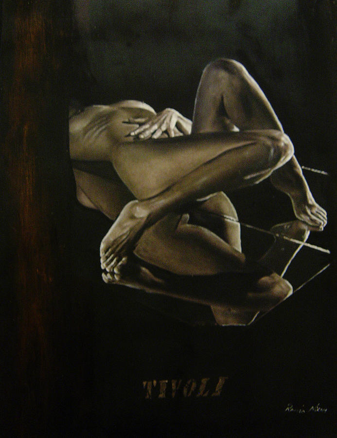 Oil Painting - Humanografia 2 by Romeo Niram