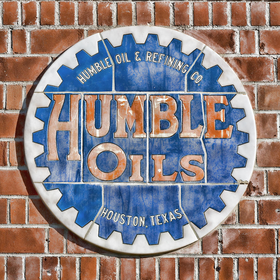 Humble Oil Photograph - Humble Oils by Stephen Stookey