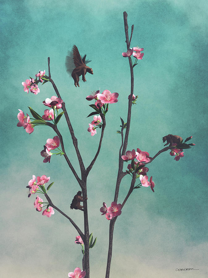 Hummingbears by Cynthia Decker