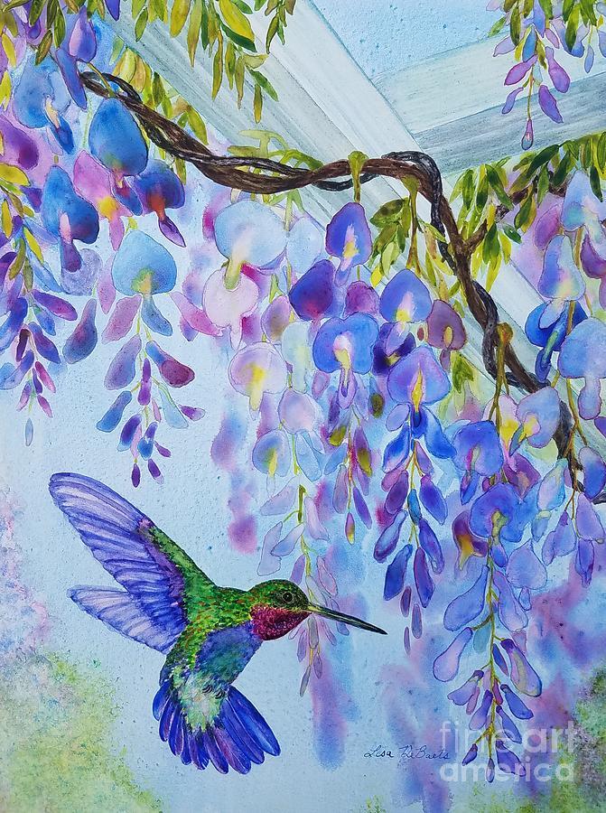 Hummingbird Fantasy by LISA DEBAETS