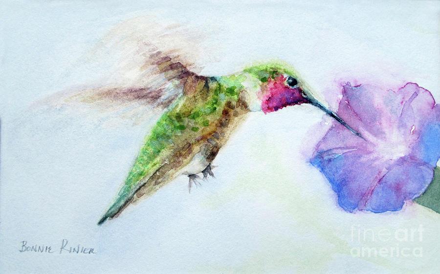 Hummingbird Flight by BONNIE RINIER