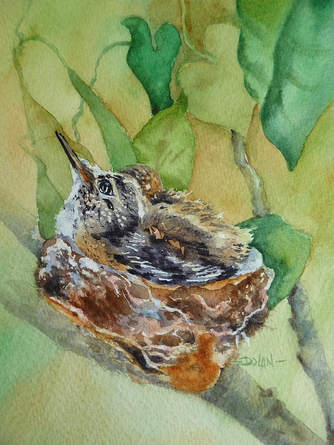 Hummingbird Nestiing by Pat Dolan