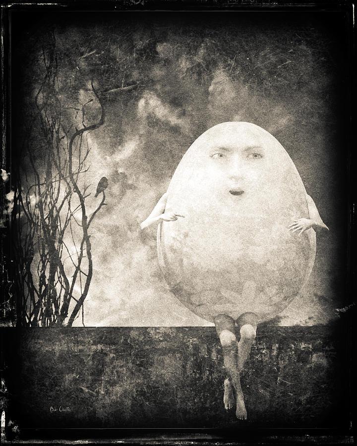 Humpty Dumpty Photograph - Humpty Dumpty by Bob Orsillo