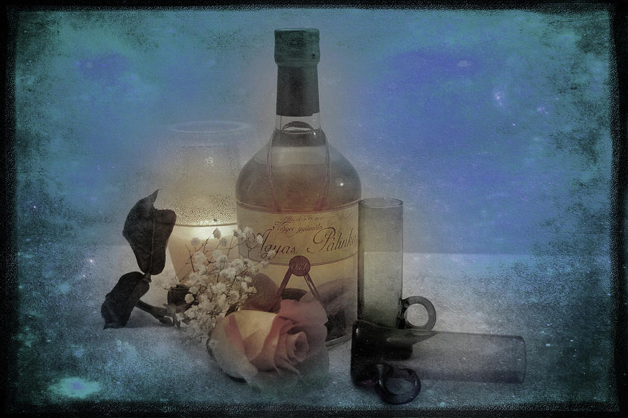 Glass Photograph - Hungarian Palinka by Rozalia Toth