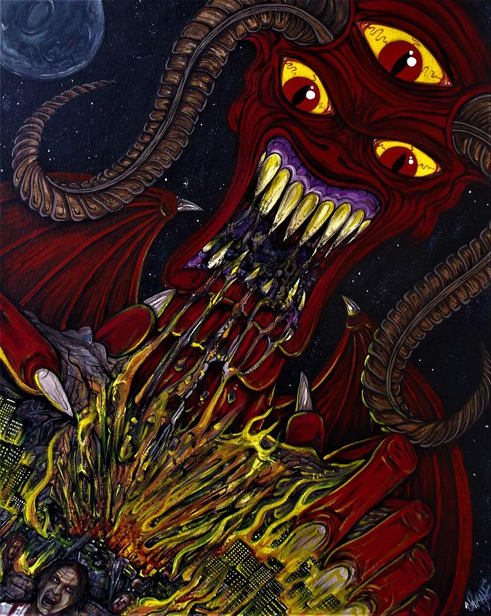 Hungry For Chaos by SAM HANE