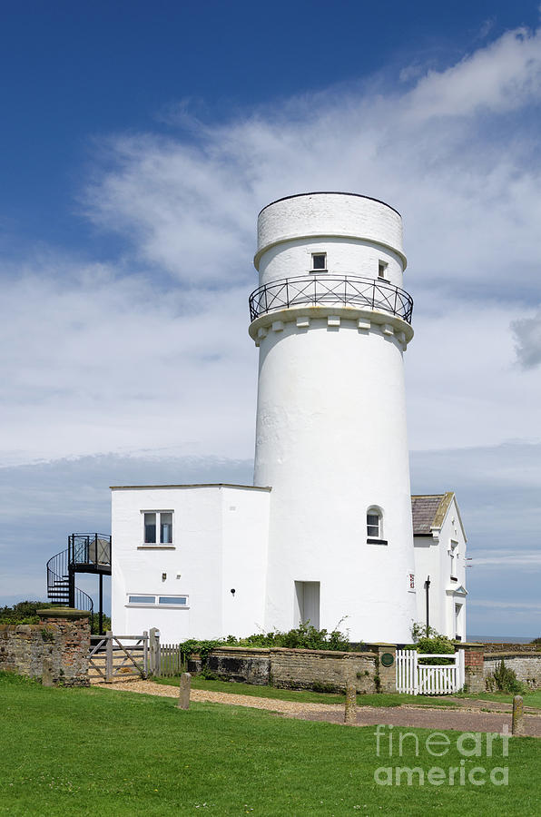 Hunstanton Photograph - Hunstanton Lighthouse by Steev Stamford